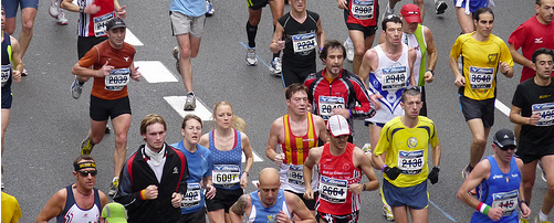 Dr. Colvin talks to the Wall Street Journal about older people running in marathons.