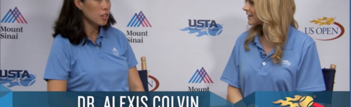 Dr Alexis Colvin speaks with the US Open